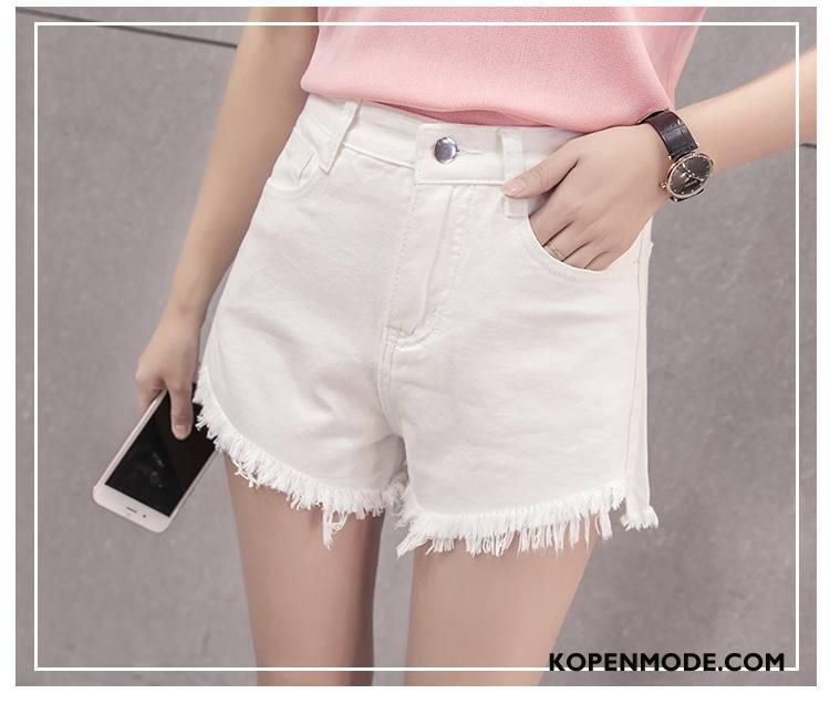 Korte Broek Spijker Dames.Jeans Dames Voorjaar Denim Korte Broek 2018 Hoge Taille Mode Zwart