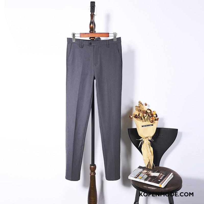 Broeken Heren Slim Fit Mini Mode Grijs