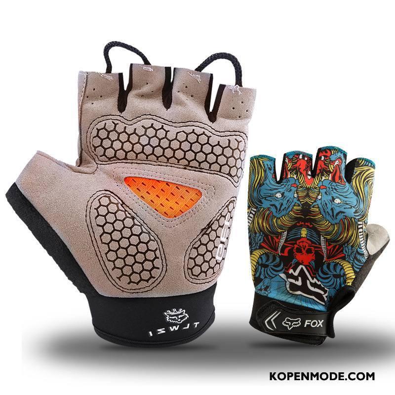 Handschoenen Heren Antislip Mannen Geschiktheid Zomer Outdoor Dun Grijs