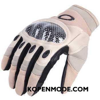 Handschoenen Heren Bescherming Bloemen Sport Touchscreen Tactiek Outdoor Zandkleur