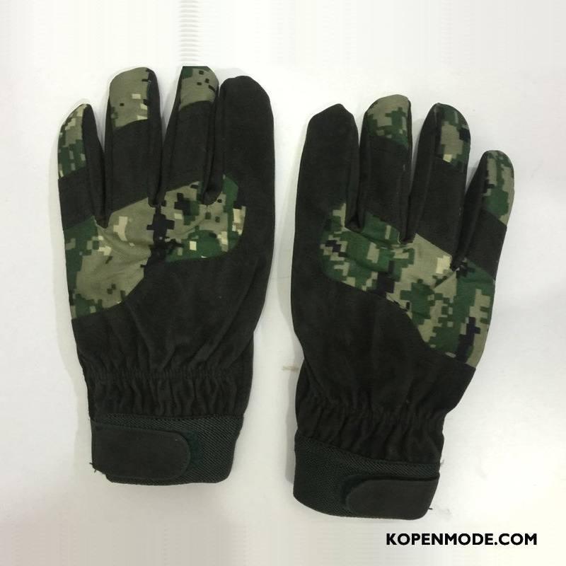 Handschoenen Heren Paardrijden Mannen Blijf Warm Winter Outdoor Herfst Camouflage