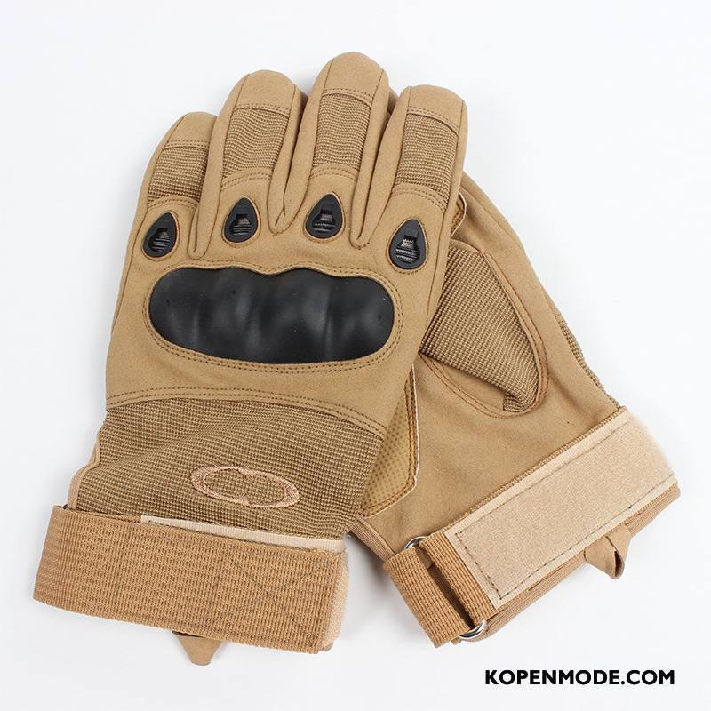 Handschoenen Heren Tactiek Outdoor Mannen Antislip Zandkleur
