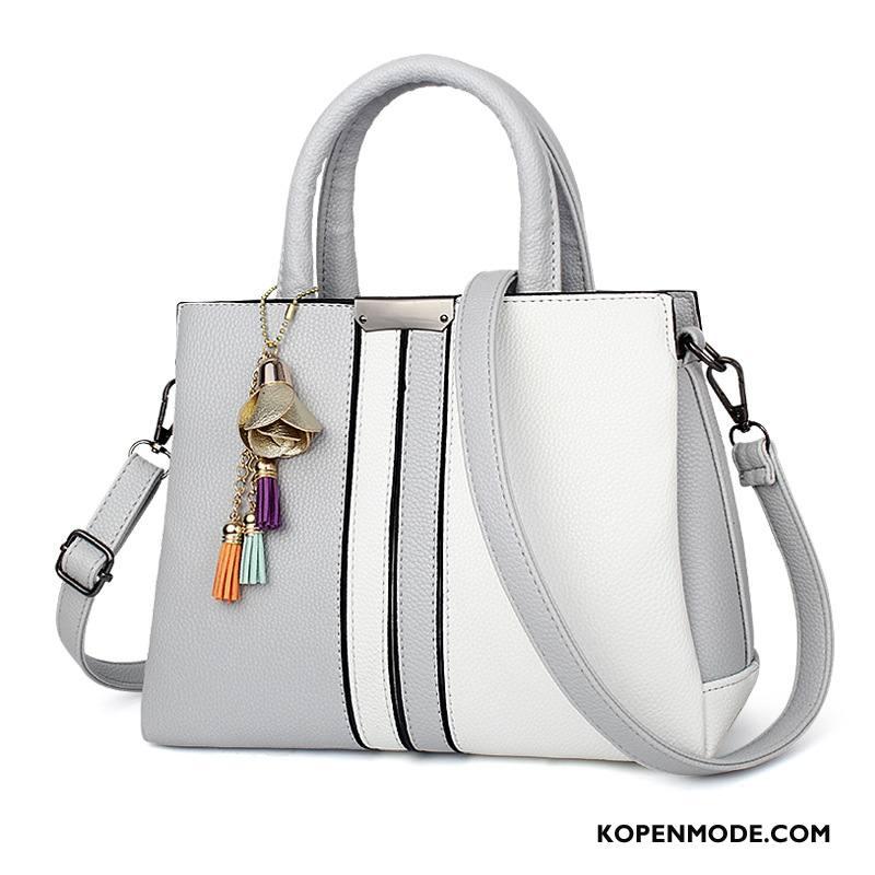 Handtas Dames Zomer Mode Nieuw Vrouwen Messenger Tas Grote Tas Wit