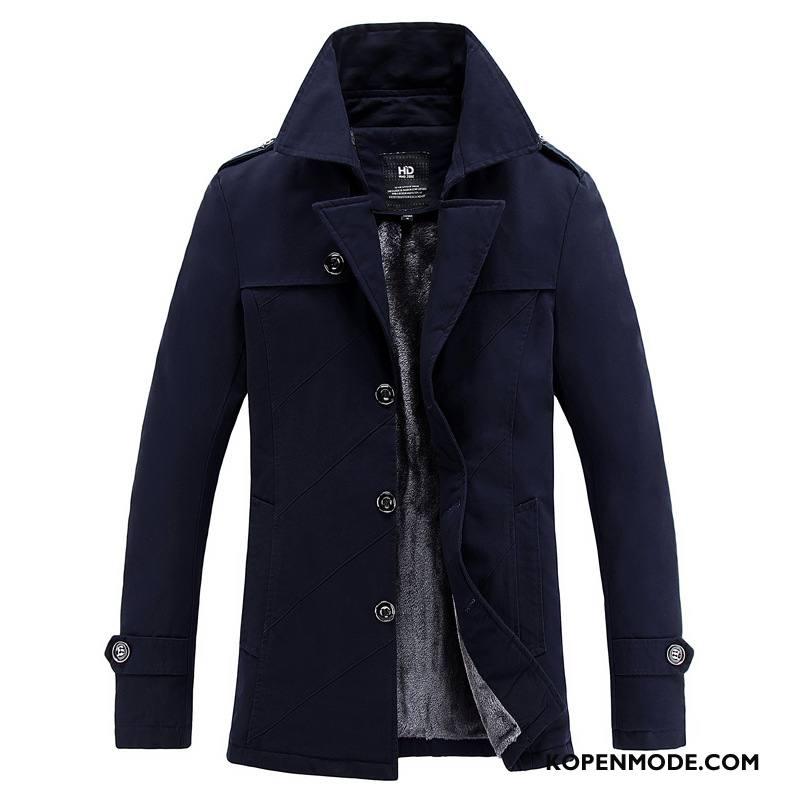 Jassen Heren Mode Mannen Merken Jeugd Dikke Jack Blauw