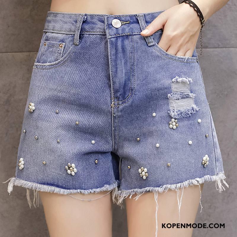 Jeans Dames Spijkerbroek Jeans Populair Elegante Mode Zoet 2018 Blauw