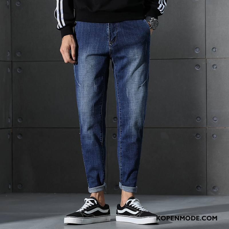 Jeans Heren Harlan Spijkerbroek Jeans Mode Blauw