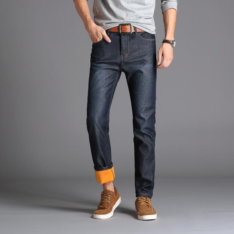 Jeans Heren Mannen Plus Kasjmier Spijkerbroek Jeans Zwart