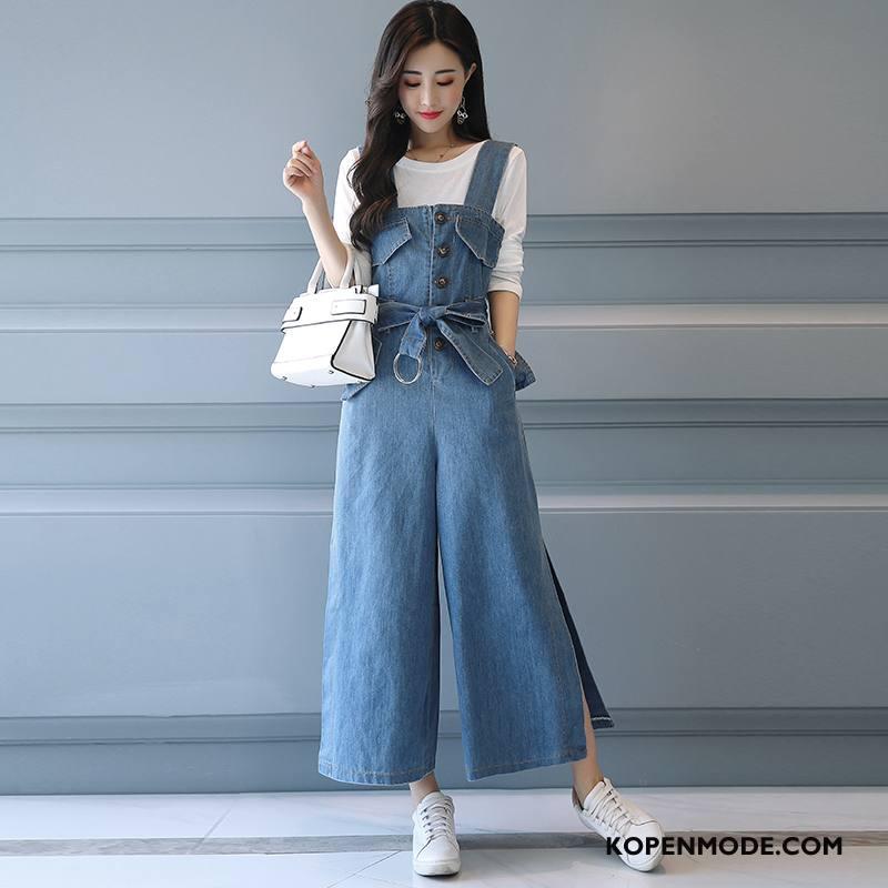 Pakken Dames Elegante Mode Herfst Zoet Straat Zak Blauw