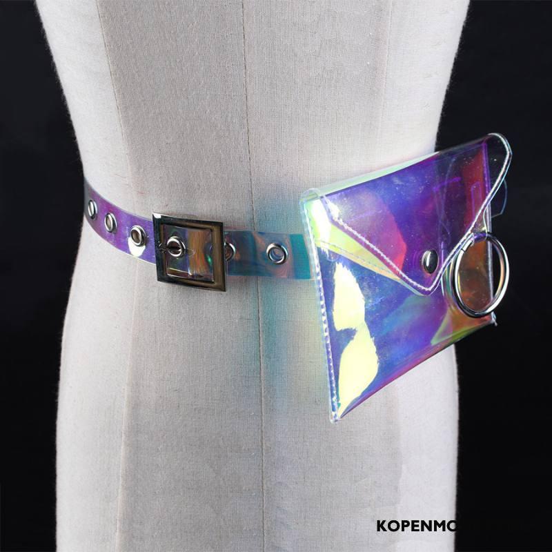 Riemen Dames Tas Decoratie Ringen Doorzichtig Mini Vrouwen Kleur
