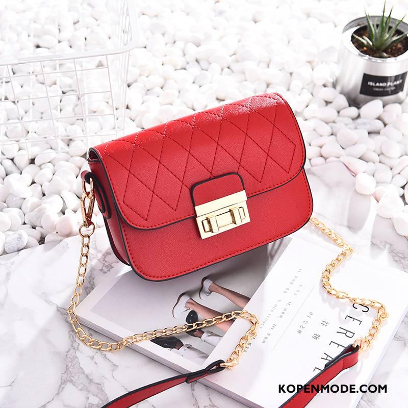 Schoudertas Dames Nieuw Mode Zomer Messenger Tas Vrouwen Trend Rood
