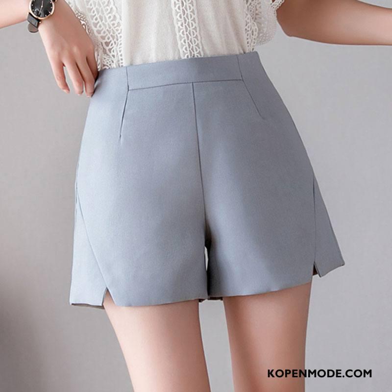 Shorts Dames Zomer Bovenkleding Mode Dunne Voorjaar Losse Blauw