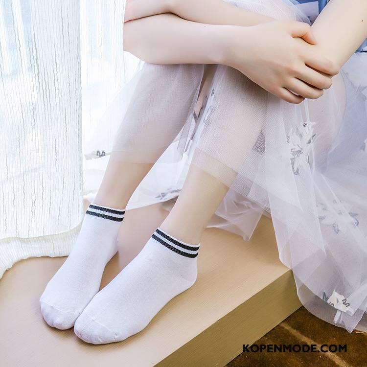 Sokken Dames Mini Korte Sok Voorjaar Vrouwen Schattig Nieuw Wit Licht
