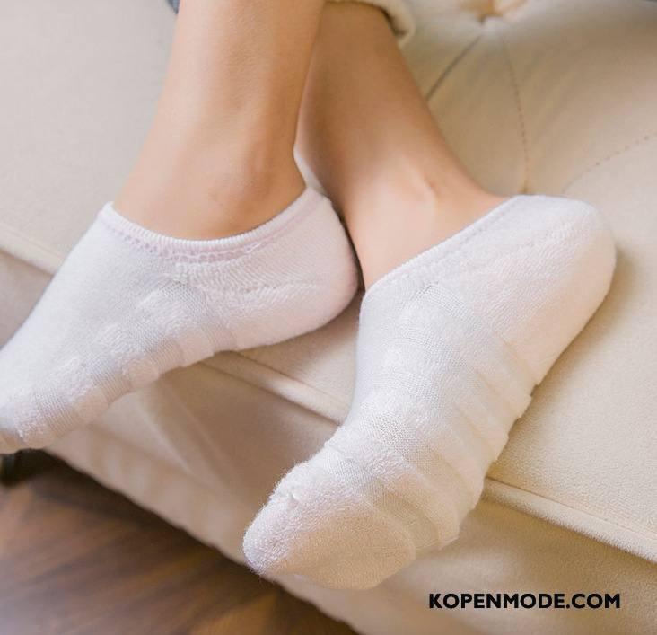 Sokken Dames Verdikken Vrouwen Pluche 100% Katoen Zuiver Handdoek Wit