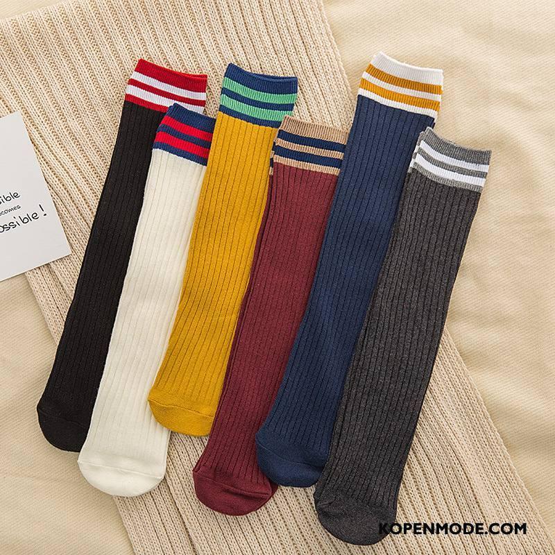 Sokken Dames Vrouwen Katoenen Sokken Nieuw Lang Kleur