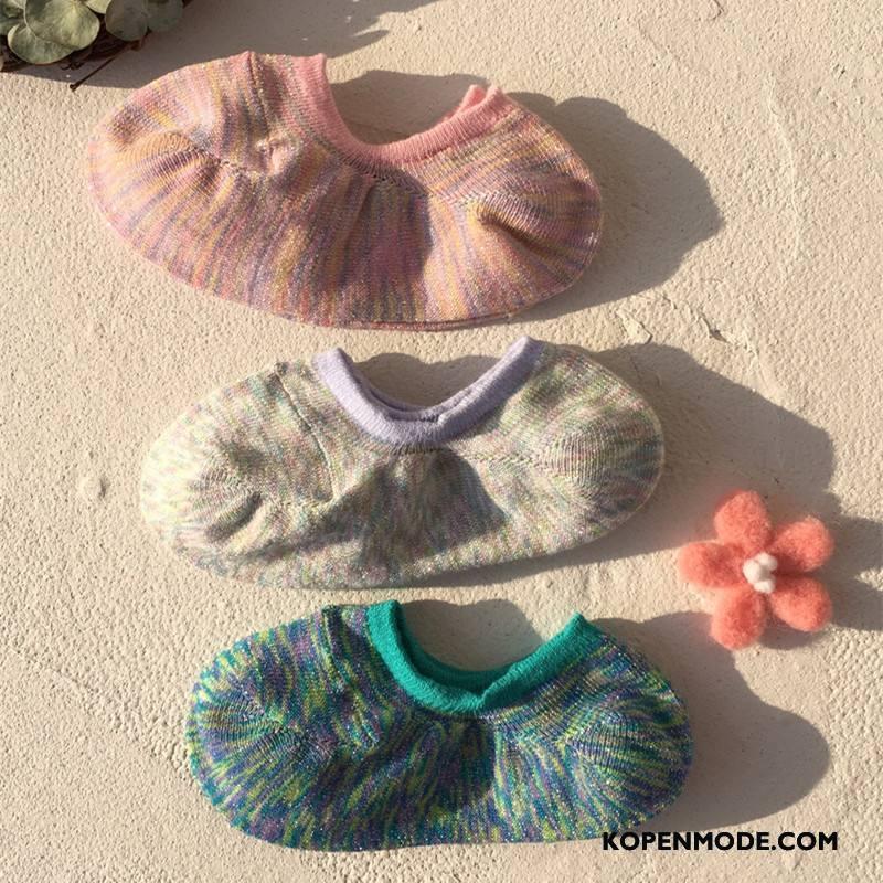 Sokken Dames Zomer Vrouwen Zachte Boot Sokken Kleur