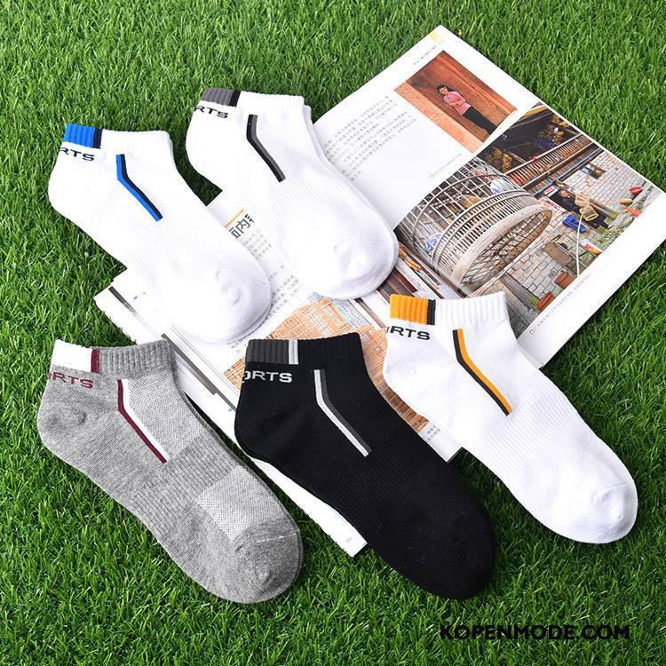 Sokken Heren 100% Katoen Mannen Boot Sokken Nieuw 2018 Laag Wit