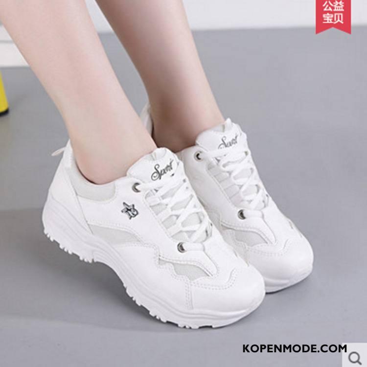Sportschoenen Dames Reis Super Voorjaar Trend Skateboard Schoenen Vrouwen Wit