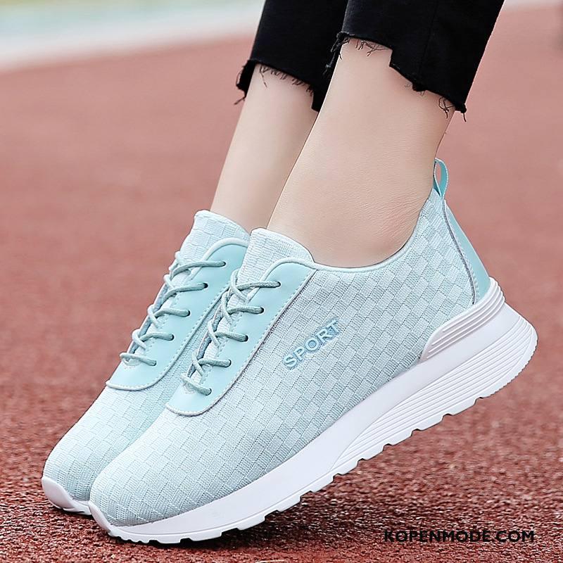 Sportschoenen Dames Trend Gratis Verzending Loopschoenen Casual Voorjaar Verhogende Blauw