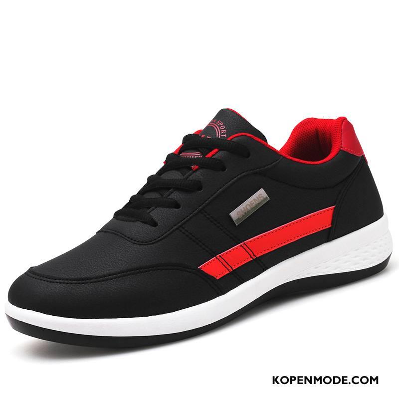Sportschoenen Heren Mannen Casual Running Skateboard Schoenen Antislip Trend Zwart