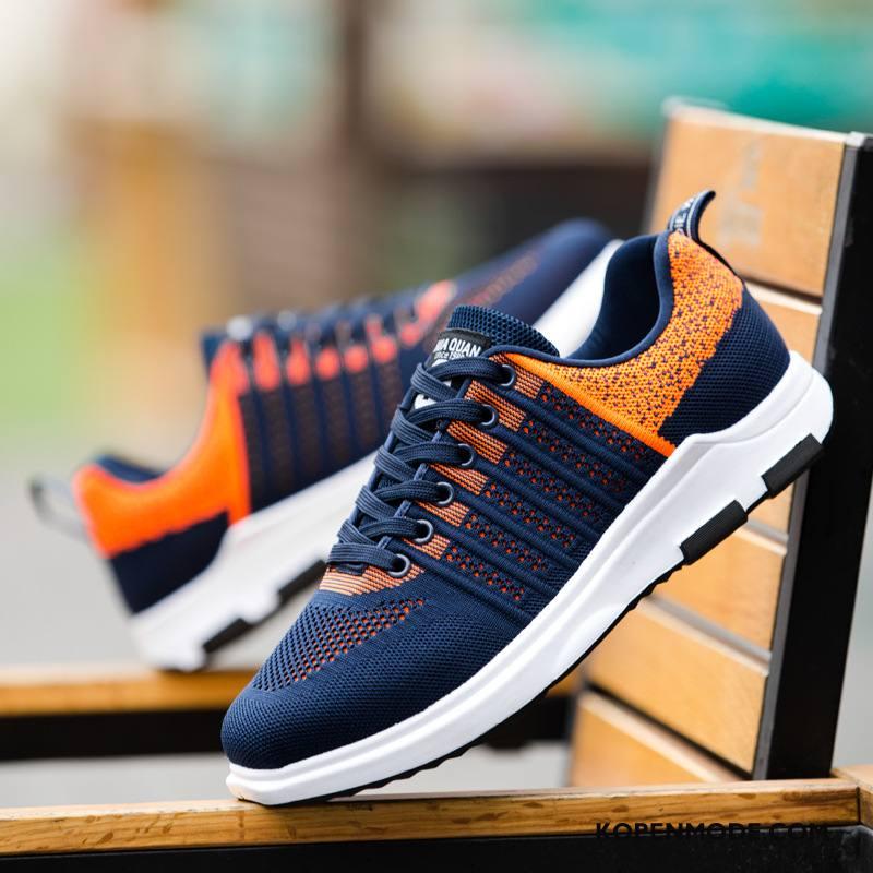 Sportschoenen Heren Mannen Loopschoenen Trend Zomer Ademende Voorjaar Oranje