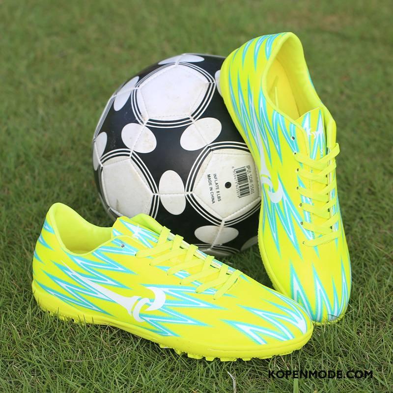 Sportschoenen Heren Vrouwen Student Voetbalschoenen Mannen Stijgijzers Fluorescentie Geel