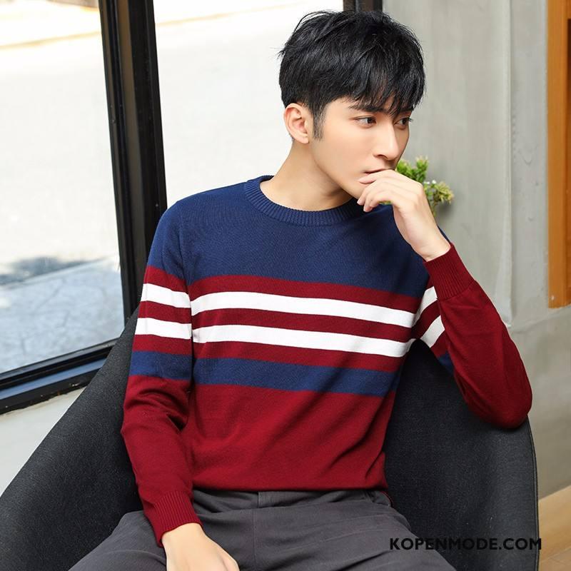 Truien Heren Herfst Hete Verkoop Mannen Winter Mode Rood