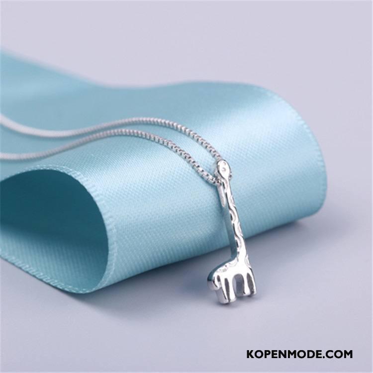 Zilveren Sieraden Dames Accessoires Heet Lang Vrouwen Schattig Zuiver Zilver