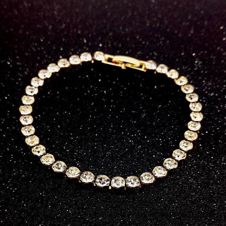 Zilveren Sieraden Dames Mode Armbanden Kristal Vrouwen Nieuw Accessoires Zilver