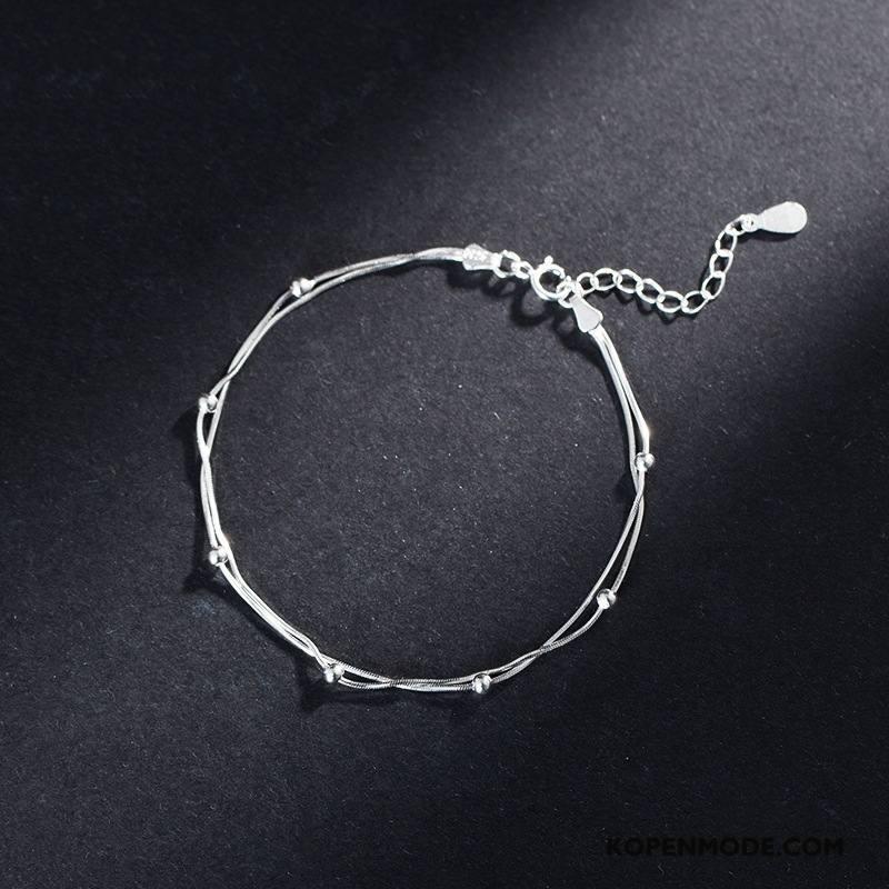 Zilveren Sieraden Dames Steranijs Met De Hand Fijne Vrouwen Meerlaags Accessoires Zilver