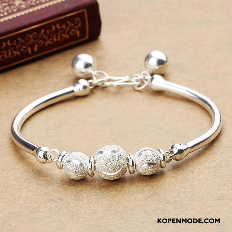 Zilveren Sieraden Dames Vrouwen Armbanden Mode Accessoires Zilver