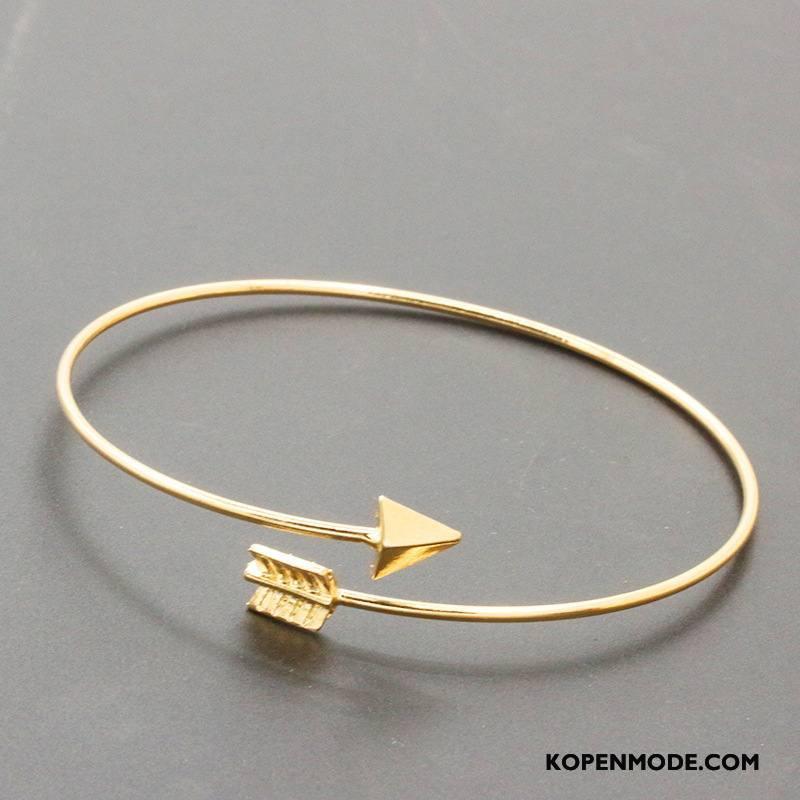 Zilveren Sieraden Dames Vrouwen Armbanden Populair Mode Nieuw Accessoires Gouden