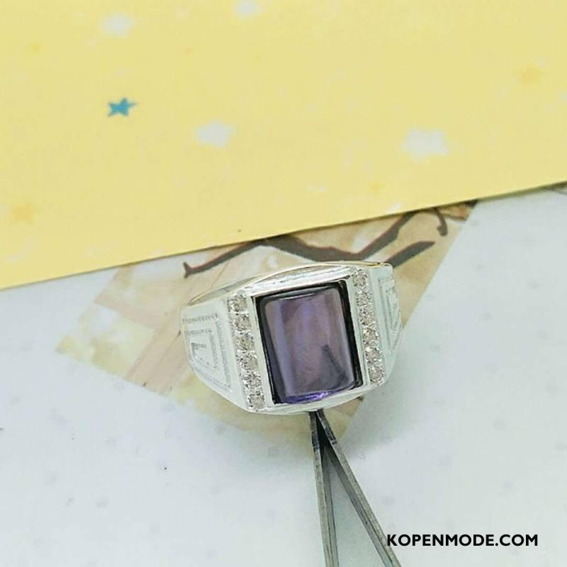 Zilveren Sieraden Heren Accessoires Mode Persoonlijkheid Mannen Zuiver Trend Zilver