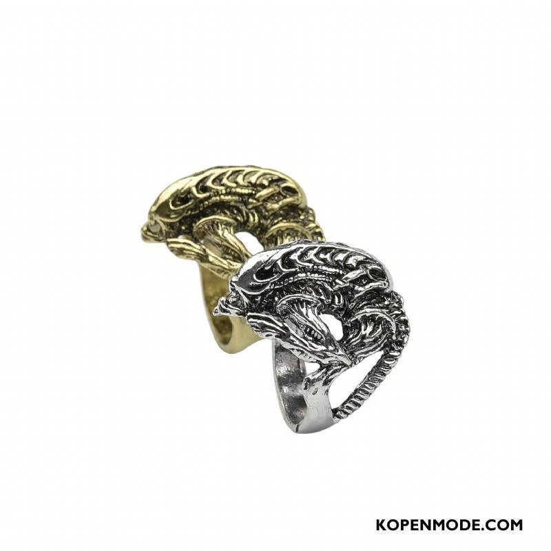 Zilveren Sieraden Heren Mannen Vintage Heet Europa Nieuw