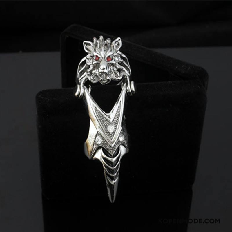 Zilveren Sieraden Heren Mode Mannen Accessoires Zilver