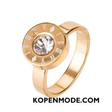 Zilveren Sieraden Heren Mode Mannen Vintage Europa Gouden