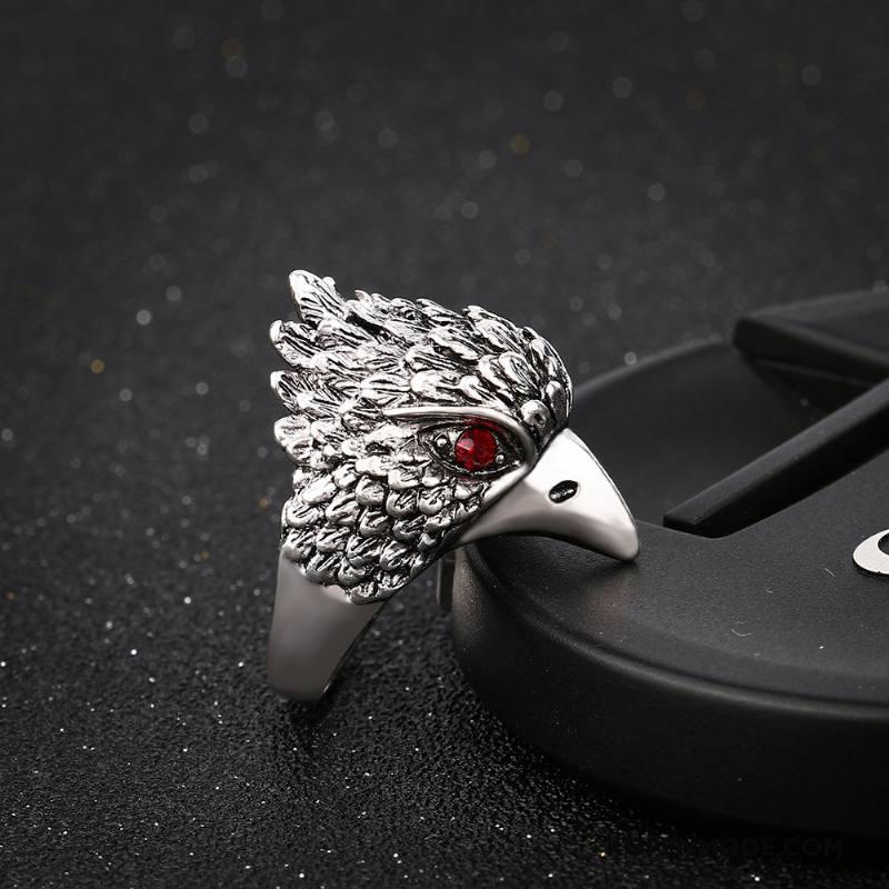 Zilveren Sieraden Heren Strass Mannen Vintage Zilver