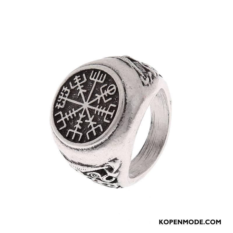 Zilveren Sieraden Heren Vintage Mannen Heet Zilver