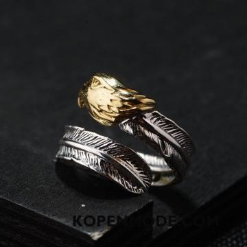 Zilveren Sieraden Heren Zuiver Modellering Mannen Elegante Zilver