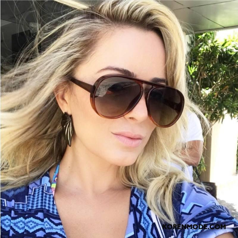 Zonnebrillen Dames Mannen Heet Mode Europa Groot Vrouwen