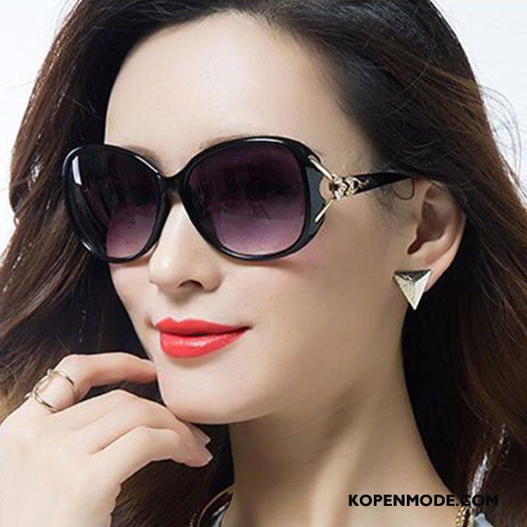 Zonnebrillen Dames Nieuw Speciale Vrouwen Mode Polarisator Purper