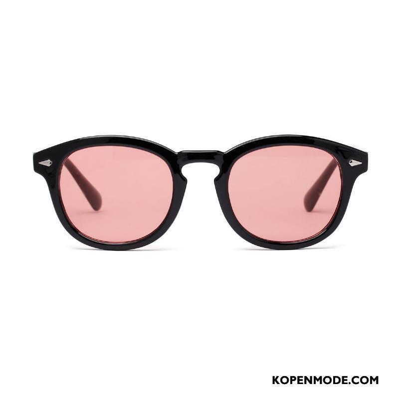Zonnebrillen Dames Vrouwen Europa Nieuw Trend Kleur Roze