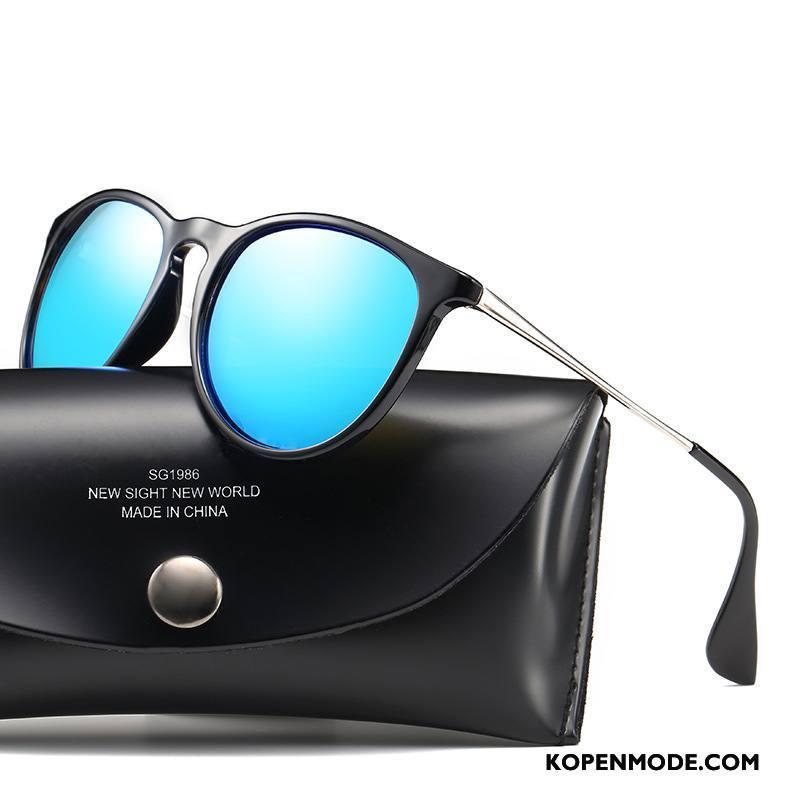 Zonnebrillen Dames Vrouwen Merken Mannen Polarisator Trend Nieuw Blauw