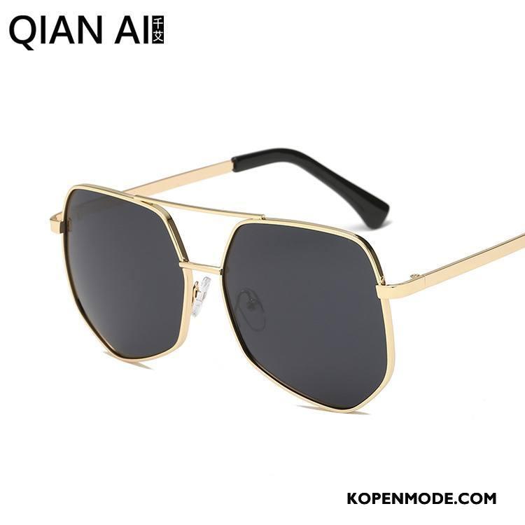 0d5769a6ee11df Zonnebrillen Heren Groot Mode Polarisator Autorijden Mannen Trend Zwart