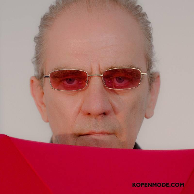 Zonnebrillen Heren Mannen Trend Mode Nieuw 2018 Rood Goud