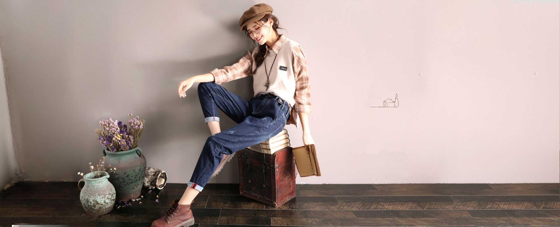Jeans Dames Mode